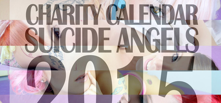 Partner Charity Calendar Suicide Angels 2015